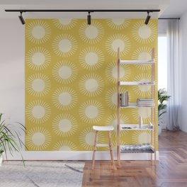 Golden Sun Pattern III Wall Mural