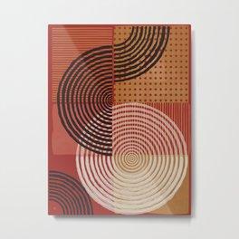Natural Geometry VIII Metal Print