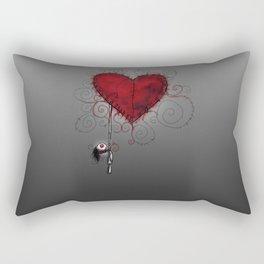 Handmade Suicide Rectangular Pillow