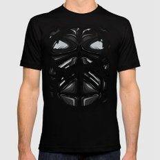 Knight Armor Mens Fitted Tee Black SMALL