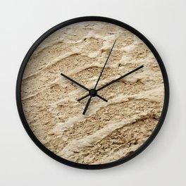 Wheel Loader Skid Marks 4 Wall Clock