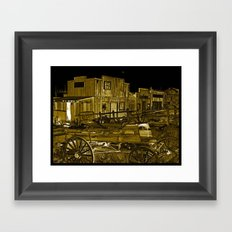 Whats left in the West Framed Art Print