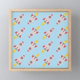 Rocket Power Framed Mini Art Print