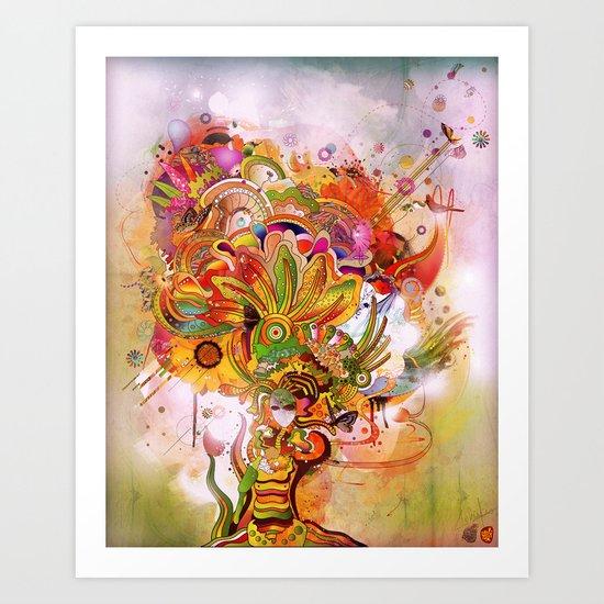 Botanical Dimensions Art Print