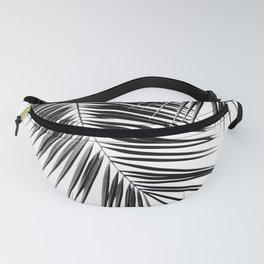 Black Palm Leaves Dream - Cali Summer Vibes #2 #tropical #decor #art #society6 Fanny Pack
