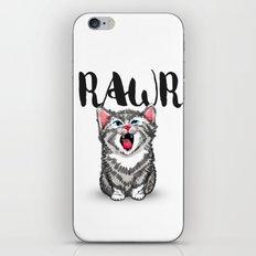 Little Pal, Big Roar iPhone & iPod Skin