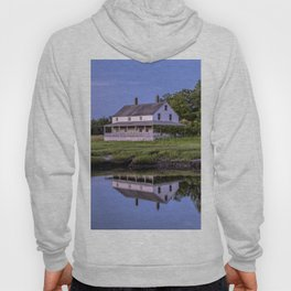 Essex river house reflection Hoody