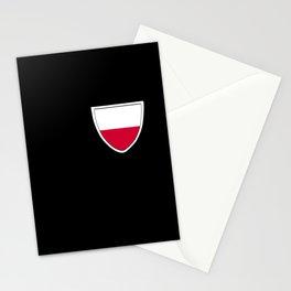 Poland breast pocket Polish homeland Polska gift Stationery Cards