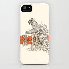 Godzilla vs. the Brooklyn Bridge Slim Case iPhone (5, 5s)