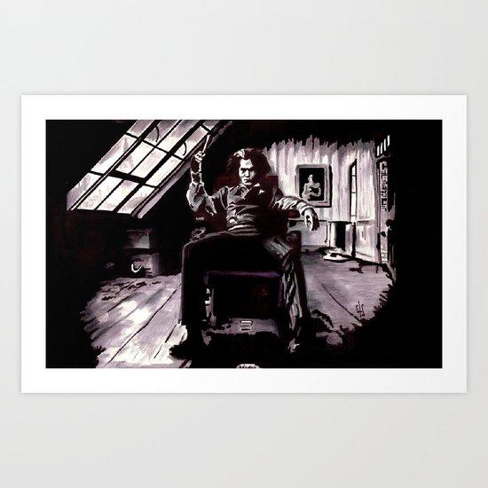 Benjamin Barker Art Print