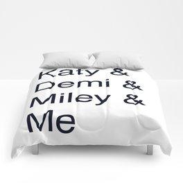 Katy, Demi, Miley Crew Comforters