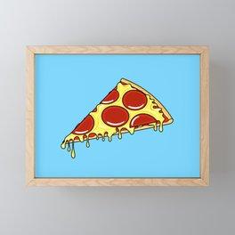 Pepperoni Pizza Slice Framed Mini Art Print