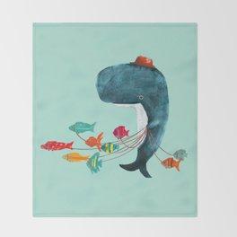 My Pet Fish Throw Blanket