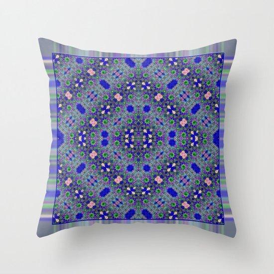 Grecian Garden Throw Pillow