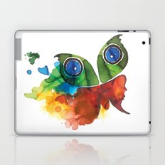 colorful butterfly Laptop & iPad Skin