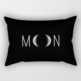 Moon - with a twist Rectangular Pillow
