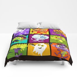 monster bunch Comforters