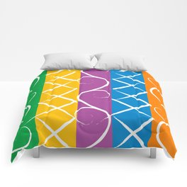 floating pattern Comforters