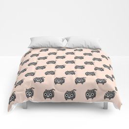 Cat Loaf - Grey Tabby Kitty Comforters