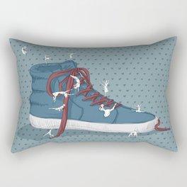 Where are you going? Rectangular Pillow
