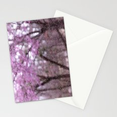 Spring Rain Stationery Cards