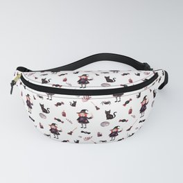 Little Witch Pattern Fanny Pack