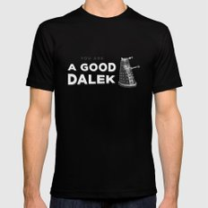 Doctor Who: A Good Dalek Mens Fitted Tee Black MEDIUM