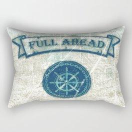 FULL AHEAD Rectangular Pillow