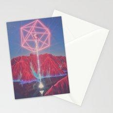 Teleportation Stationery Cards