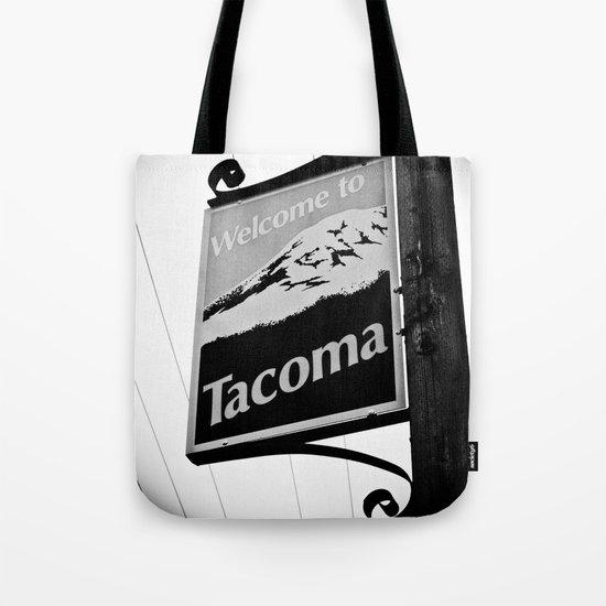 Welcome to Tacoma Tote Bag