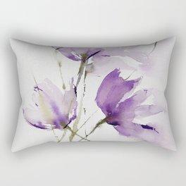 wilted tulips Rectangular Pillow