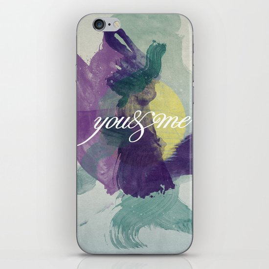 you&me iPhone & iPod Skin