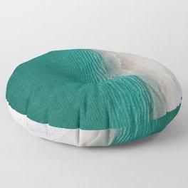 Fantastic Ocean Beach Floor Pillow