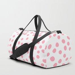 Hot Pink doodle dots Duffle Bag