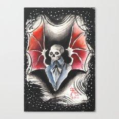 The Gentleman Demon Canvas Print