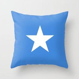 Somalian flag - flag of Somalia Throw Pillow