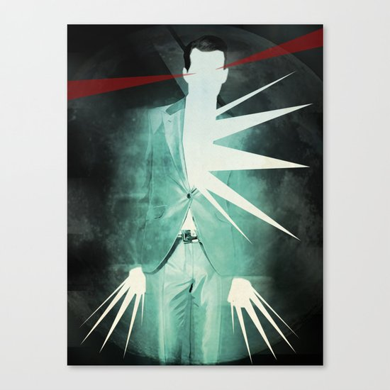 light suit Canvas Print