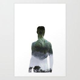 Half-Asleep Art Print