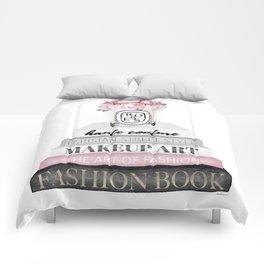 Blush, Pink, Fashion books, Peony, Peonies, Pink and Gray, Gray, Books, Fashion books, Fashion Comforters