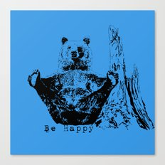 Happy To Bear It With You Canvas Print