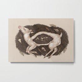 Predaceous Herbivore, Ghost Deer Metal Print