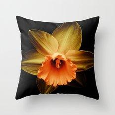 Daffodil 2 Throw Pillow
