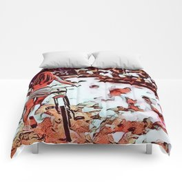 End Of Summer Comforters