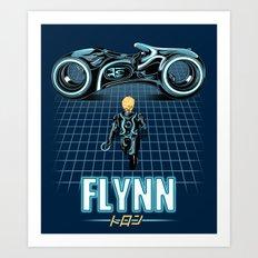 Flynn's Son Art Print