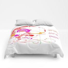 Happy Scull Comforters