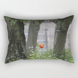 Lonely Tulip Rectangular Pillow