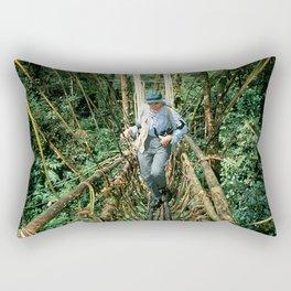Vine Bridge of Death: Papua New Guinea Rectangular Pillow