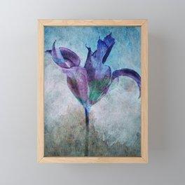 A Misterious Flower Framed Mini Art Print