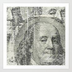 DOLLAR$ and SENSE Art Print