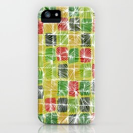 AFRICAN PATTERN 2  iPhone Case